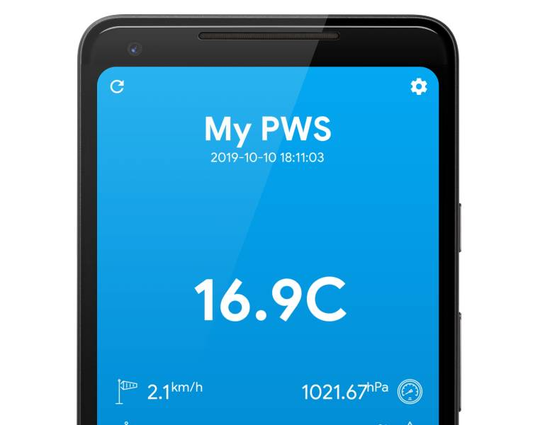 PWSWatcher mobile app